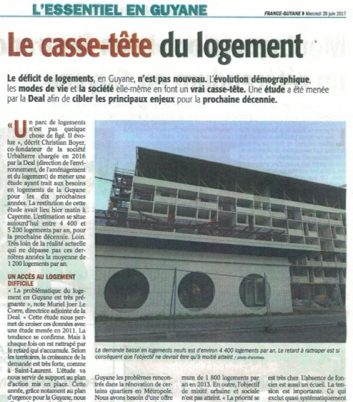 Presse FranceGuyane28juin